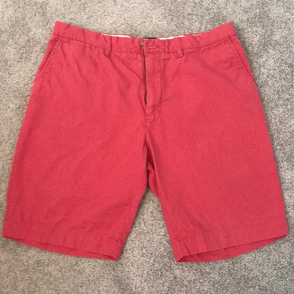 RALPH LAUREN POLO NANTUCKET PINK RED 31 STRETCH CLASSIC FIT SHORTS MENS NWT NEW